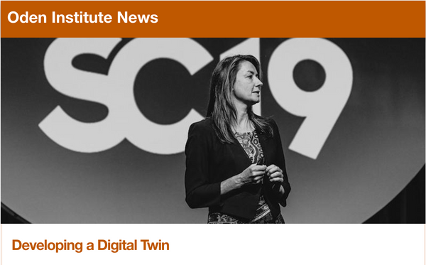 In the Media: Developing a Digital Twin