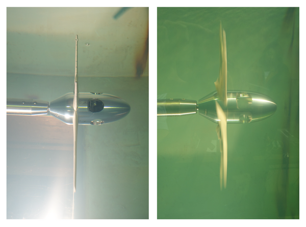 Development of an adaptive-pitch wave energy turbine